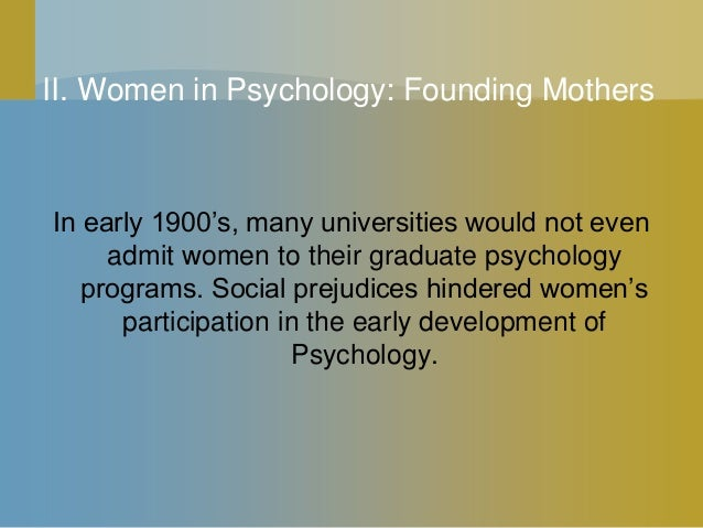 founding fathers of psychology Start studying founding fathers of psychology learn vocabulary, terms, and more with flashcards, games, and other study tools.
