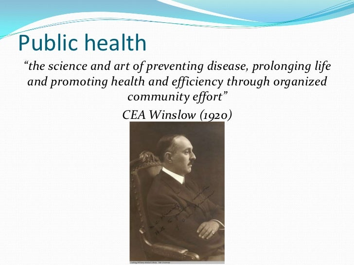 public health history The public health service act of 1944 structured the united states public health service (phs),  and advancement of public health science history.