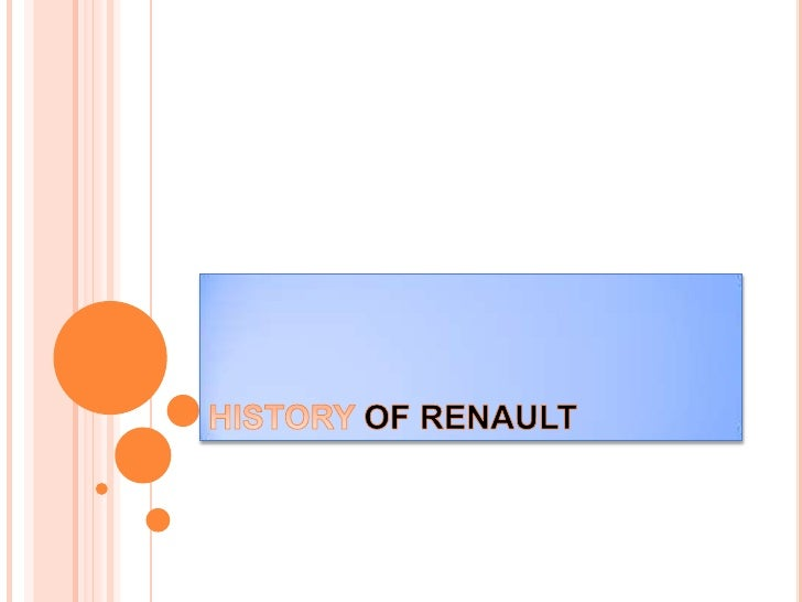 LOUIS RENAULT AND HIS BROTHERS FOUNDED THEIR COMPANY IN 1898, THEYQUICKLY MADE A NAME FOR THEMSELVES IN MOTOR RACING NOTCH...