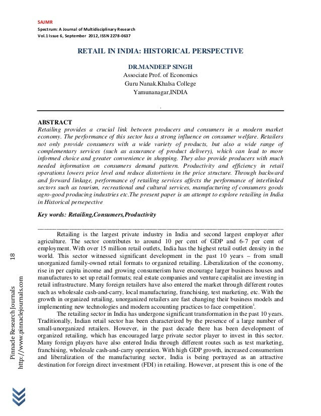 SAJMR                                                               Spectrum:AJournalofMultidisciplinaryResearch   ...