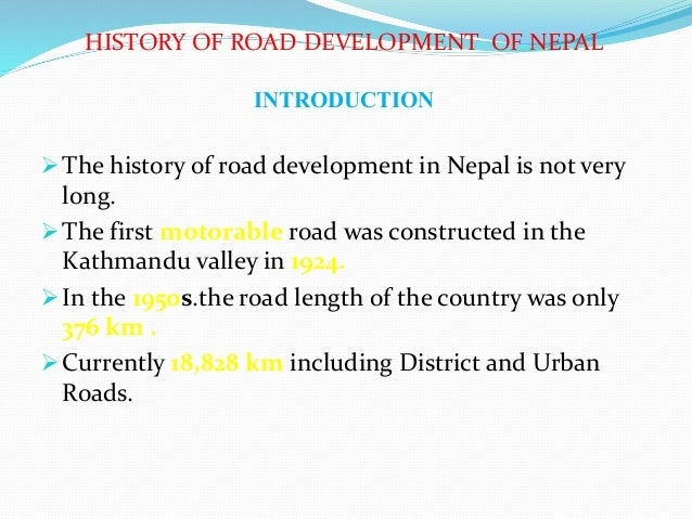The country development nepal