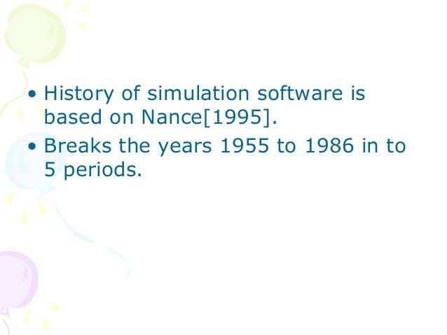 History of simulation software Slide 2