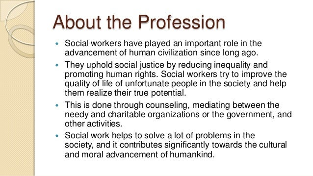 profession of social work Assessment of social work qualifications  social work profession  australian association of social workers.