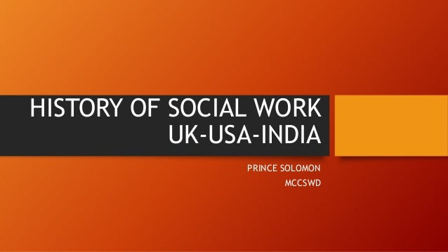 history of social work in england