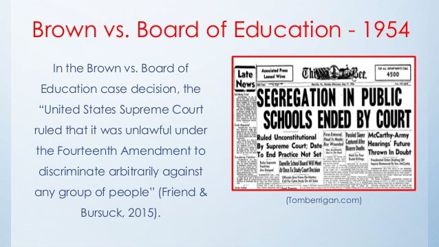Brown v. Board of Education of Topeka, 347 U.S. 483 (1954)
