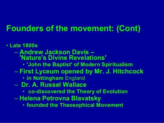 Nature S Divine Revelations Andrew Jackson