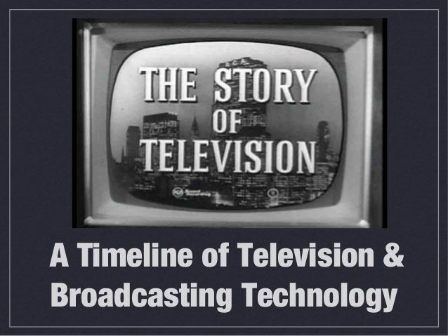 A Timeline of Television & Broadcasting Technology
