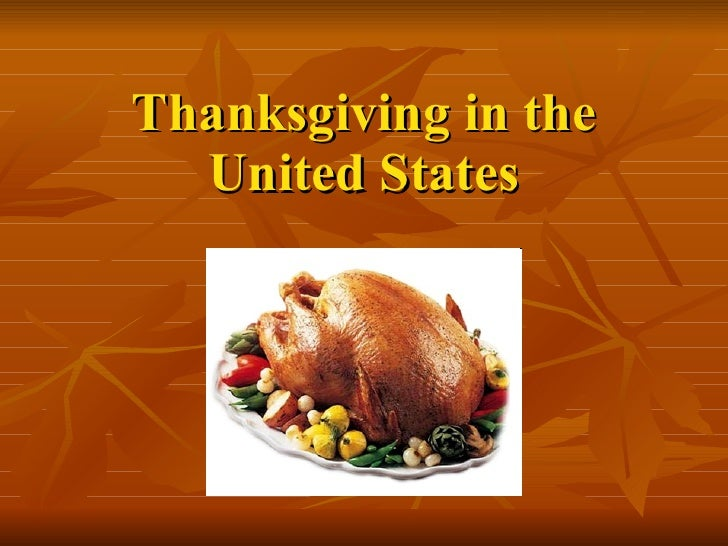 Thanksgiving in the United States