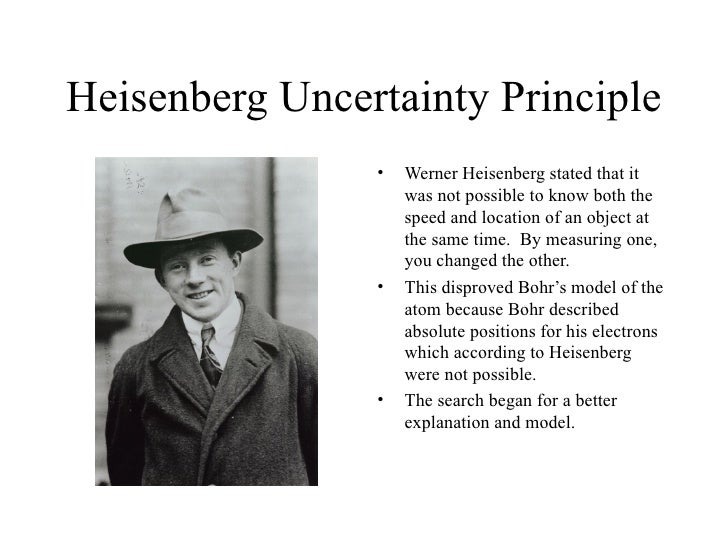 History of the atom Werner Heisenberg Atomic Model