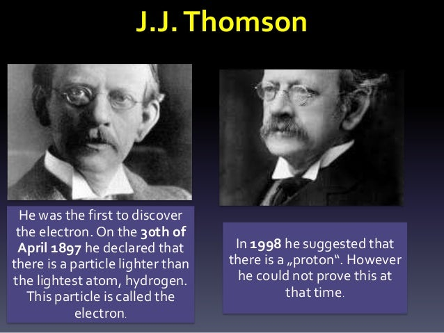 History of the atoms