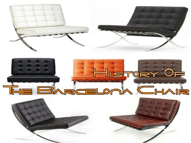 History Of The Barcelona Chair