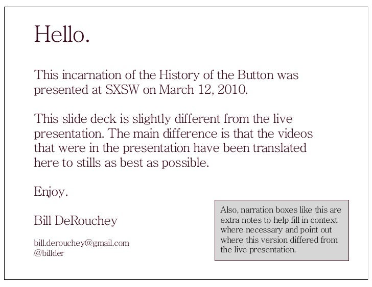 History of the Button Slide 2