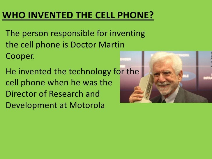 essay on the invention of cell phone