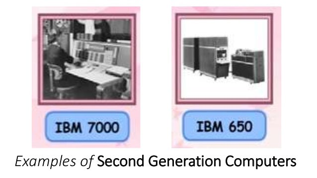 2nd generation of computer