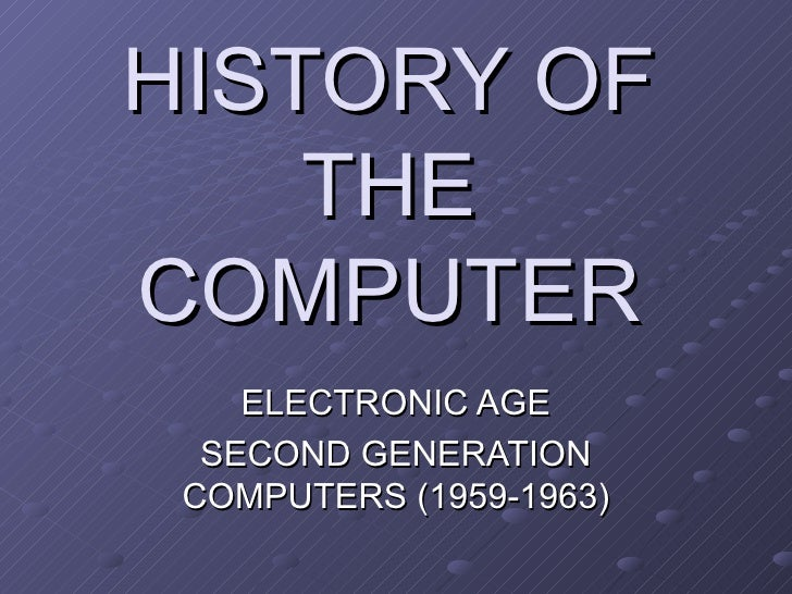 history of electronic age in computers Apple1 computer launched the apple1 was a personal computer designed by steve wozniak it was first shown off at the homebrew computer club in palo alto wozniak's friend steve jobs had the idea of selling the computer and it went on sale in july 1976 at a price of 66666 about 200 units were produced.