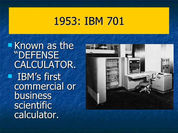 The History of the Electronic Computer