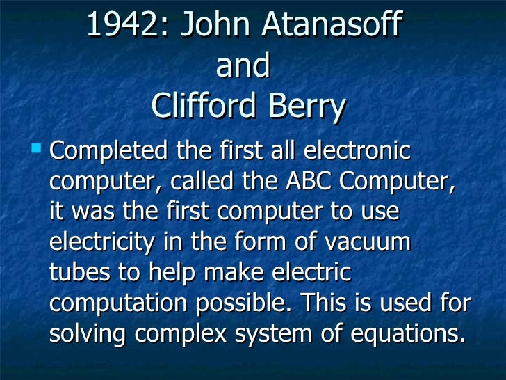 history of electronic age in computers 2014-9-8 the impact of the internet on society: a global perspective by manuel castells  the internet is the decisive technology of the information age,.