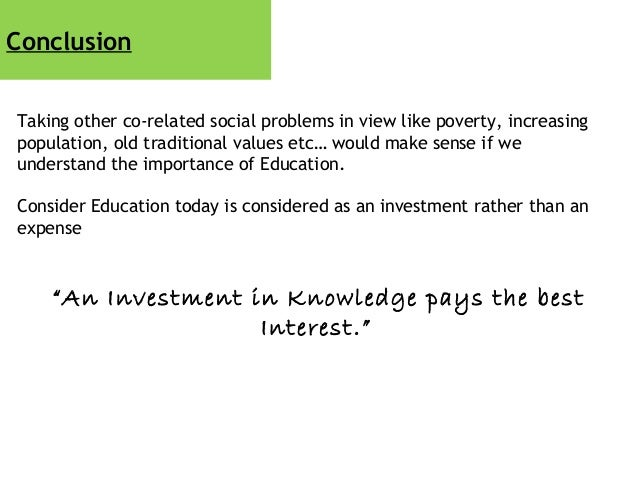 Macro Economics Project - Education System!!