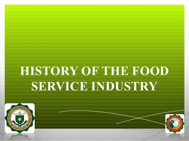 History Of Food Services Of America