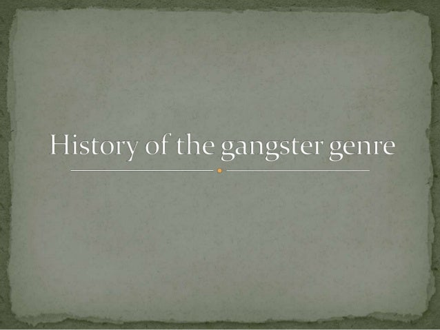  Mob films/gangster films are a sub genre of  American crime films dealing with organised  crime, usually specific with t...