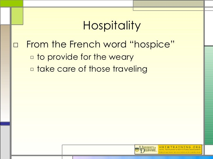 historical development of the hospitality industry Concepts in the context of hospitality financial management  course will also  provide an overview on the history, development and future of destination.