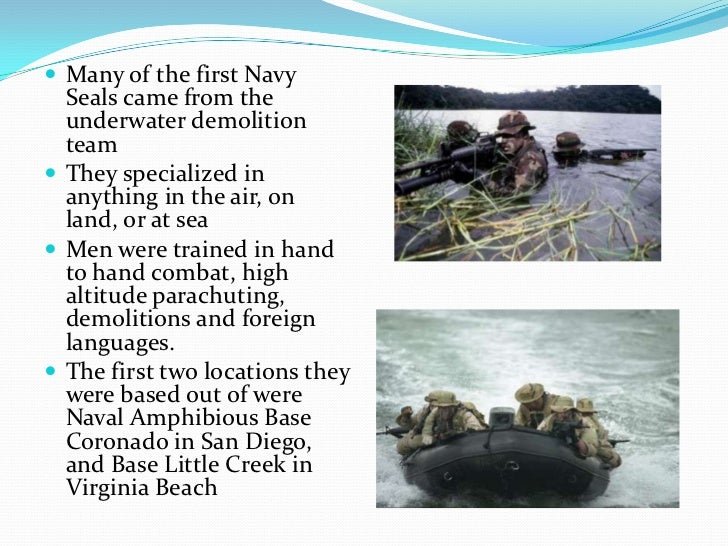 History of the navy seals