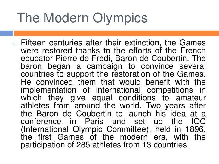 0a1a8a52c21f The Modern Olympics Baron de Coubertin  6.