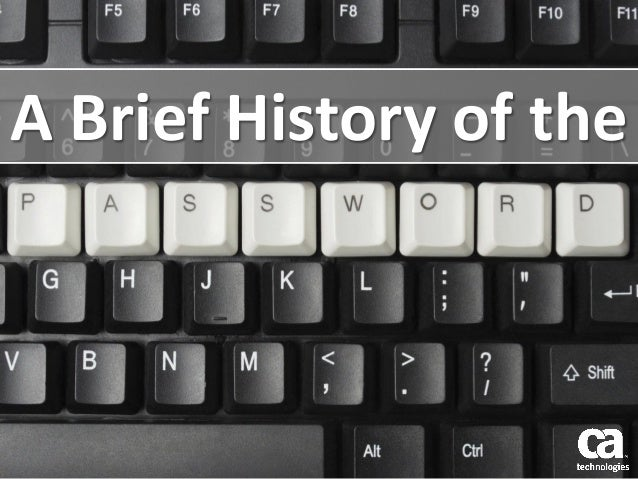 A Brief History of the