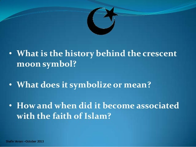 History of the Symbol of the Crescent and the Star