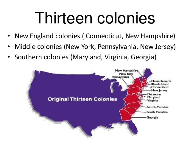 an introduction to the history of the colonies in the united states The origins and growth of slavery in america history, slavery existed in the united states from the early 17th in other colonies as punishment for.