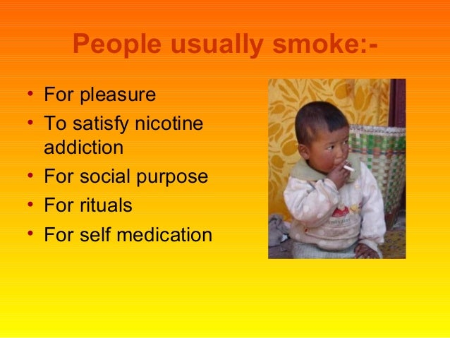 History of tobacco use & abuse Slide 2