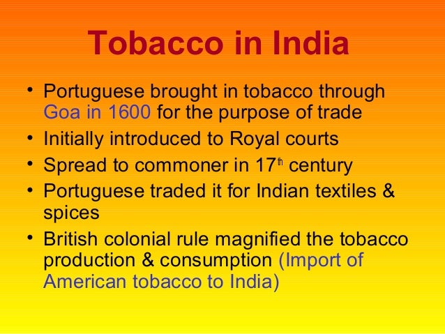 the history of tobacco use an My informative speech billions smokers worldwide the world health organization ,tobacco became one of the biggest causes of death worldwide tobacco contains a substances called nicotine addition causes among the scenarios and smoking in malaysia is almost half of all malaysian men.