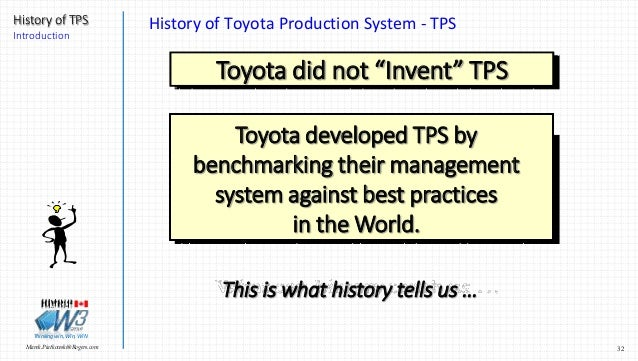 management of toyota introduction and history Management changes 'huge turning point' for toyota us-based executive looks at strategy, impact of global reorganization.