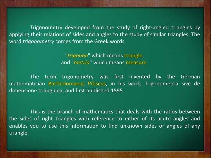history of trigonometry2. Black Bedroom Furniture Sets. Home Design Ideas