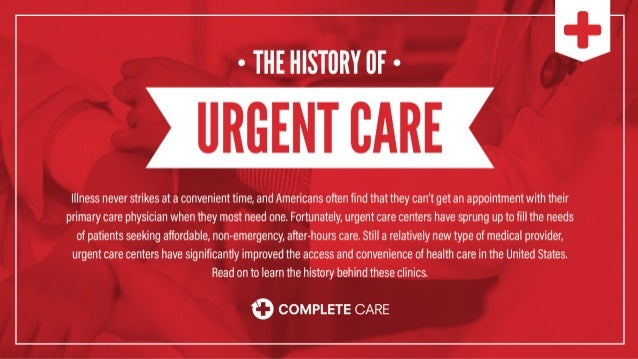 The History of Urgent Care