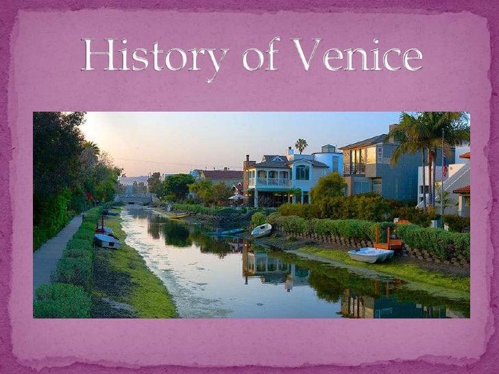 History of Venice<br />
