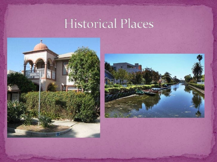 Historical Places<br />