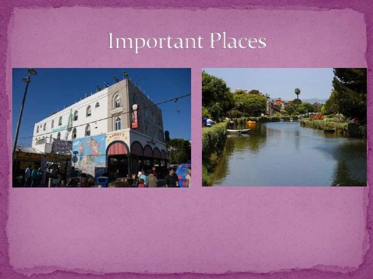 Important Places<br />