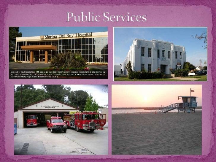 Public Services<br />