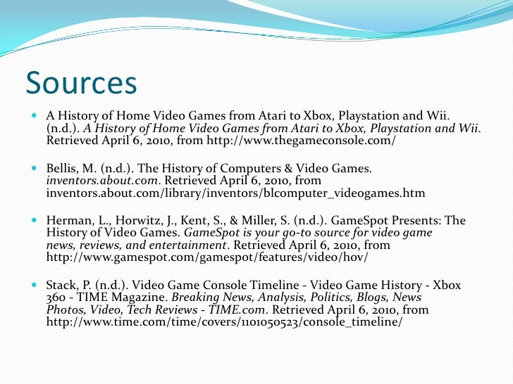 Online video games essay