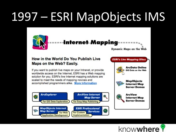 A Brief History of Web Mapping