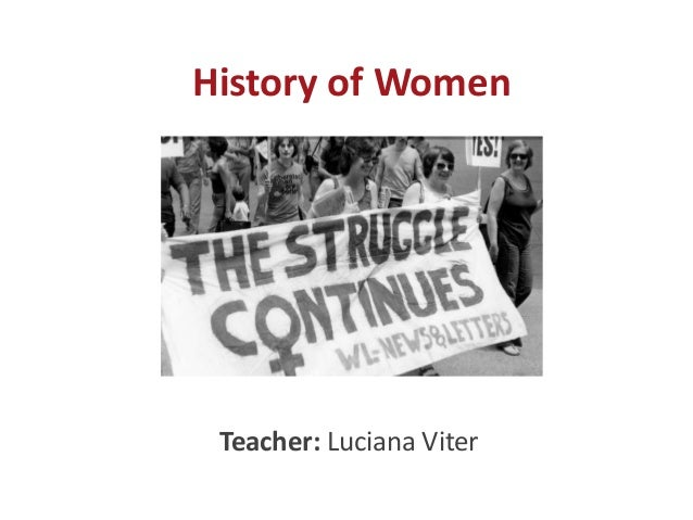History of Women Teacher: Luciana Viter