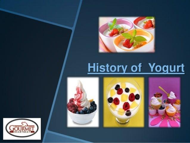 History of Yogurt