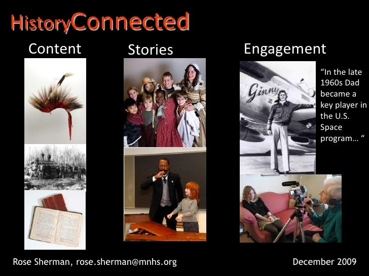 """HistoryConnected<br />Content<br />Engagement<br />Stories<br />""""In the late 1960s Dad became a key player in the U.S. Spa..."""