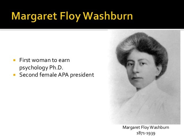 margaret floy washburn Talk:margaret floy washburn  margaret floy washburn has been listed as a level-5 vital article in people, social scientists if you can improve it, please do.