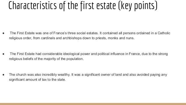first estate france