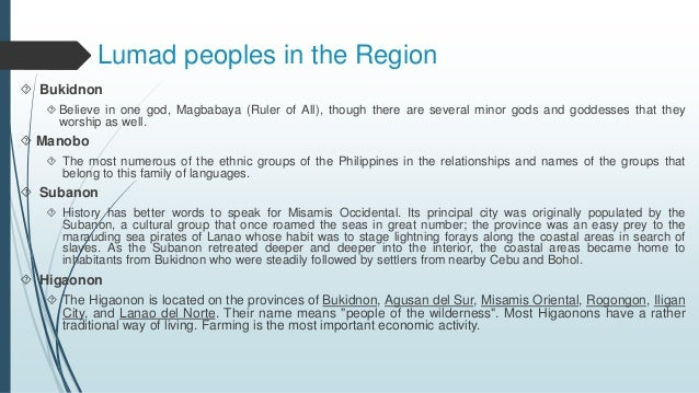 subanon history and culture The culture of the philippines reflects the country's complex history it is a blend of the malayo-polinesian and hispanic cultures, with influence from chinese, indians , arabs, and other.