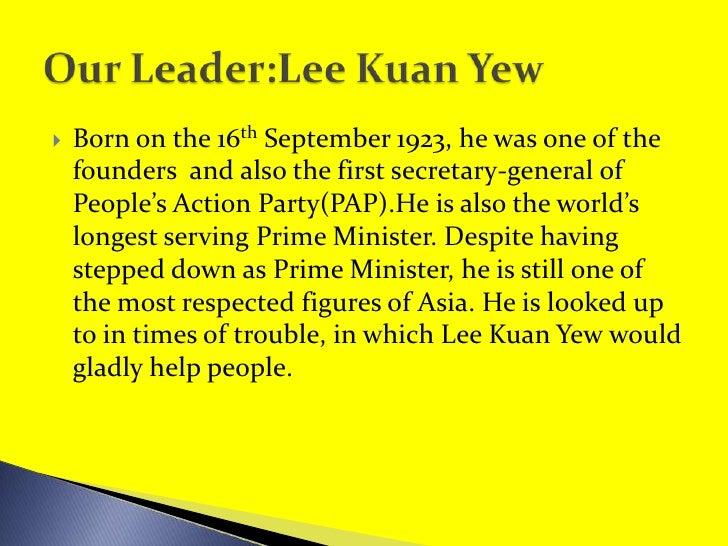 Lee Kuan Yew Slide 2