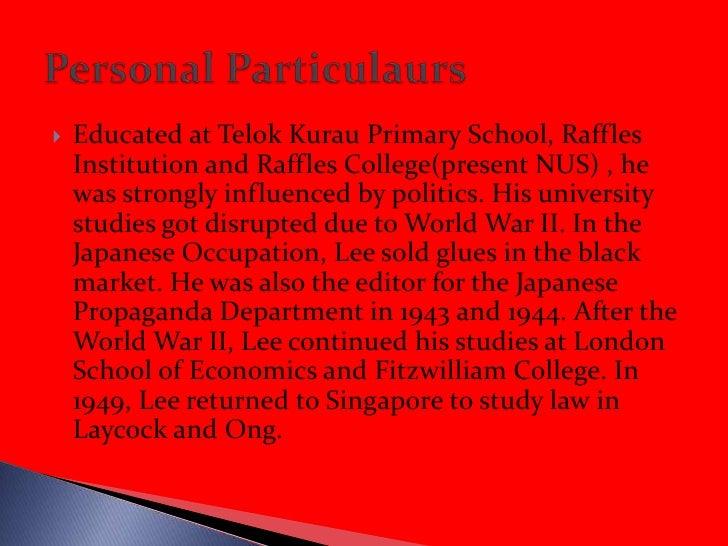Lee Kuan Yew Slide 3