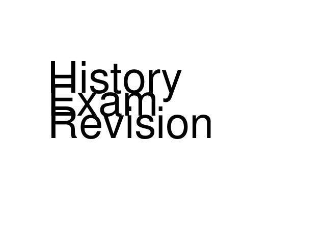 HistoryExamRevision